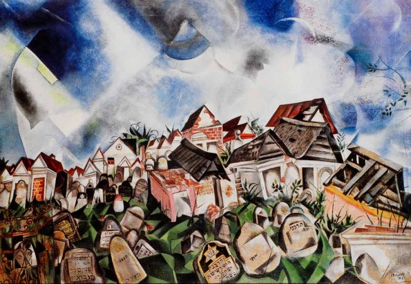 Chagall et l avant garde russe who cares for Chagall tableau