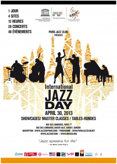 International Jazz Day Paris
