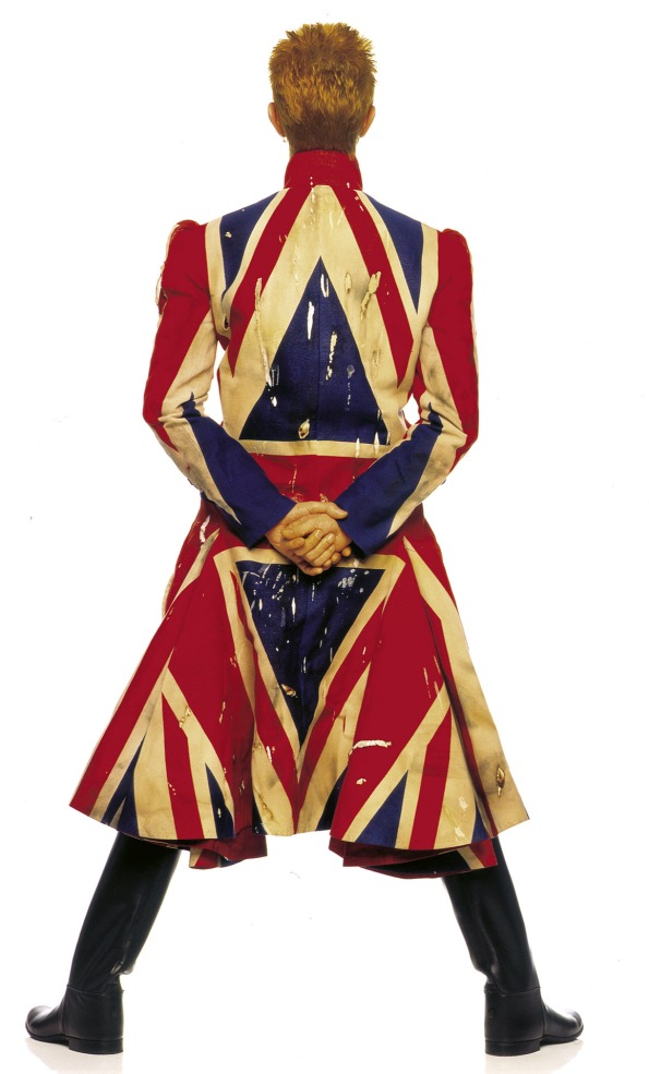 Bowie union jack coat
