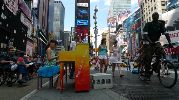 Play Me I'm Yours - New York - crédit photo Luke Jerram