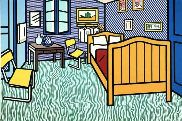 Roy Lichtenstein u2013 Bedroom at Arles