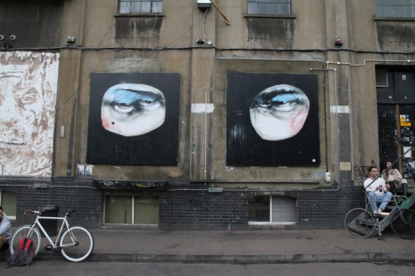 Street art Londres - 06 - Anthony Lister, Dray walk