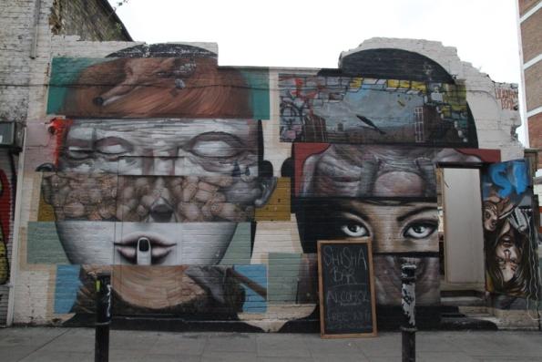 Street art Londres - 12 - ?, par Liliwenn, Hanbury Street