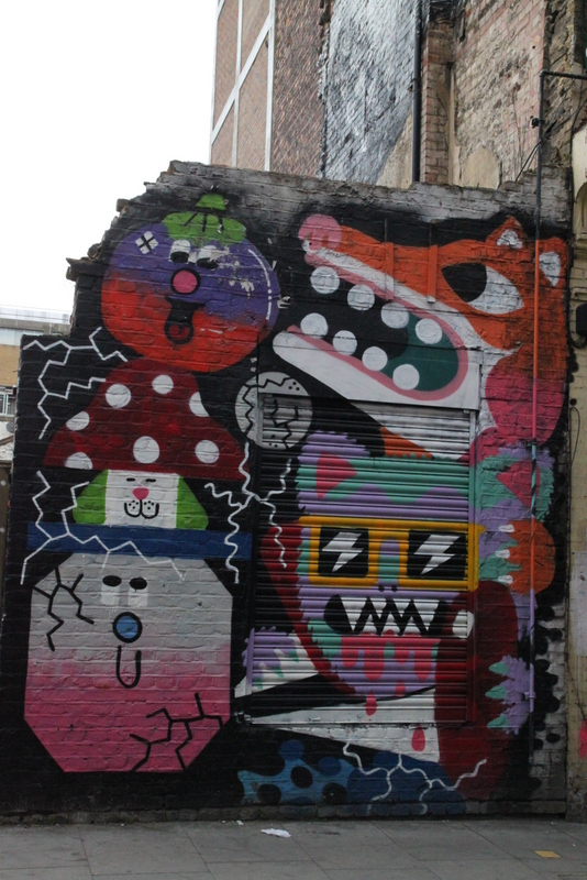 Street art Londres - 13 -