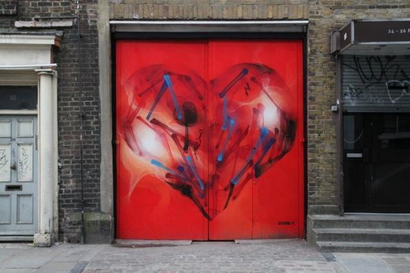 Street art Londres - 14 - ?, par SHOK-1