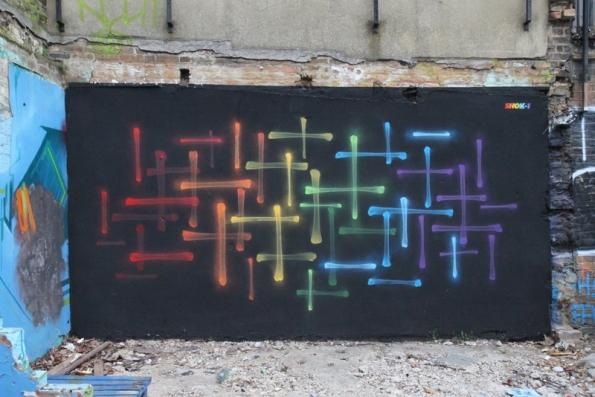 Street art Londres - 15 - ?, par SHOK-1