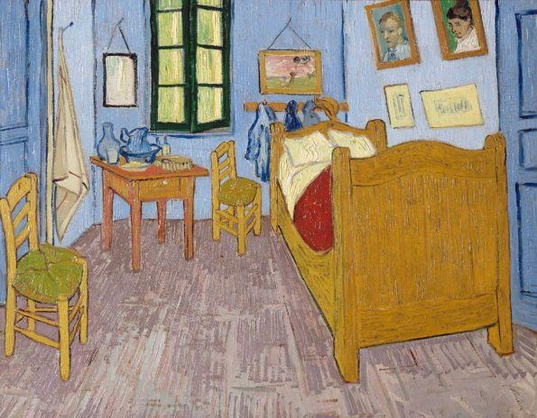 Vangogh - La chambre de Van Gogh à Arles