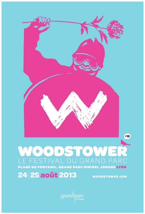 Woodstower Affiche 2013
