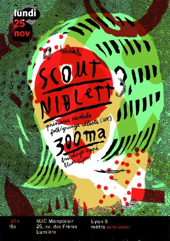 affiche scout niblett