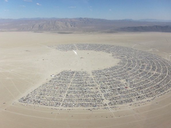 Burning Man - crédit photo Kyle Harmon