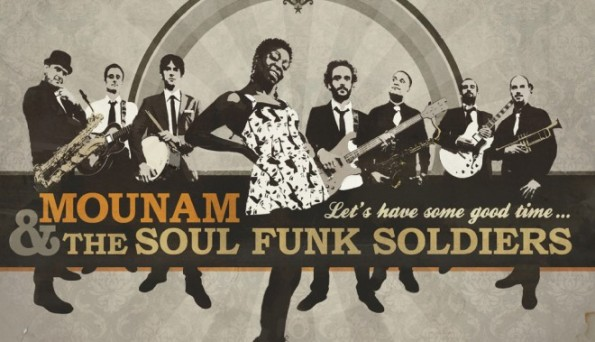 Mounam and the soul funk soldiers