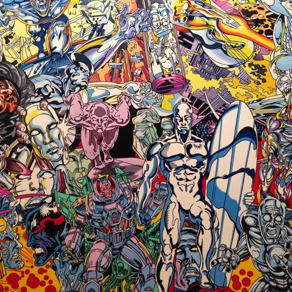Détails de Silver Surfer Saga, Erró, 1999