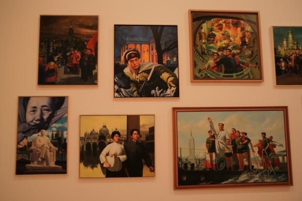Chinese paintings, Erró, 1974-79