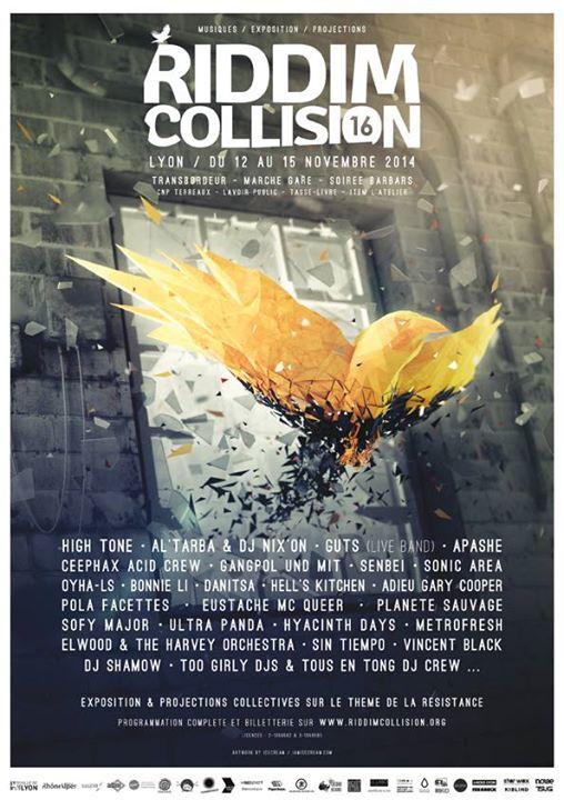 Affiche Riddim Collision
