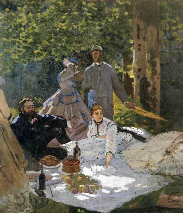 Le-déjeuner-sur-l'herbe-Claude-Monet