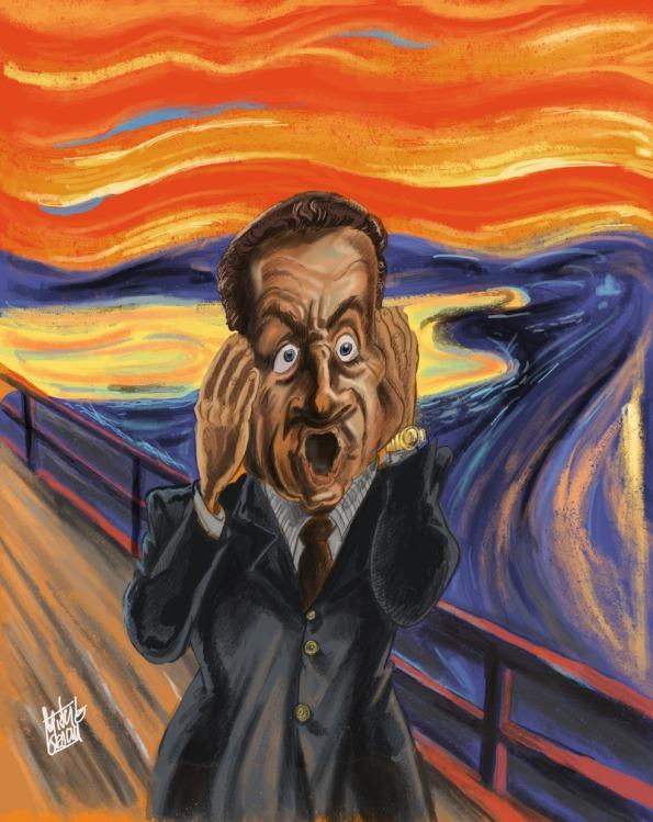 Edvard-Munch-Le-Cri-parodie-Sarkozy
