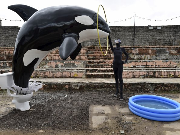 Banksy-Dismaland-04- Photo Reuters