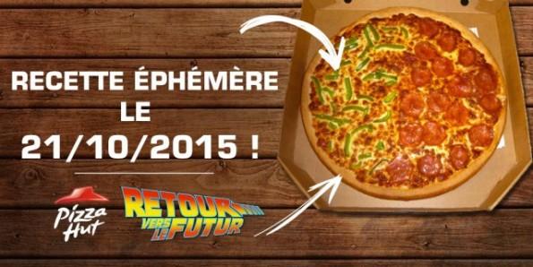 Pizza retour vers le Futur